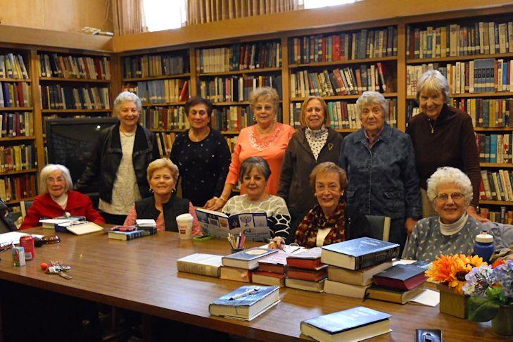 Book club for Sharon goldreich